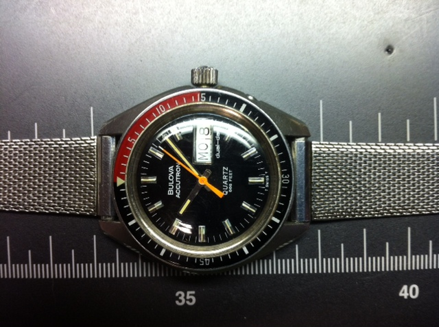 mirtlem 1977 Accutron Quartz Deep Sea 09 21 2014