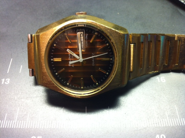 mirtlem 1978 Bulova Accutron Quartz 09 08 2014
