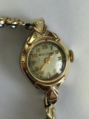 1940 Carolyn Bulova watch