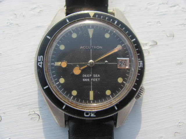 1969 Accutron Deep Sea Bulova watch