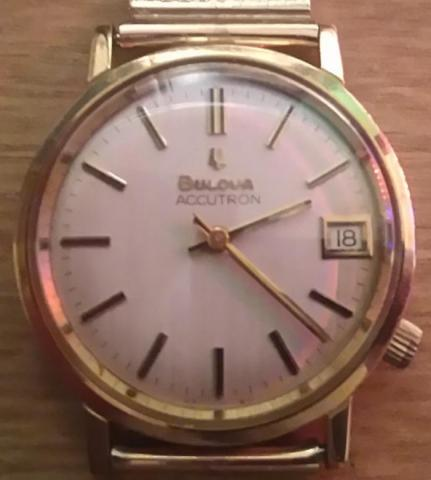 1974 Accutron Bulova watch