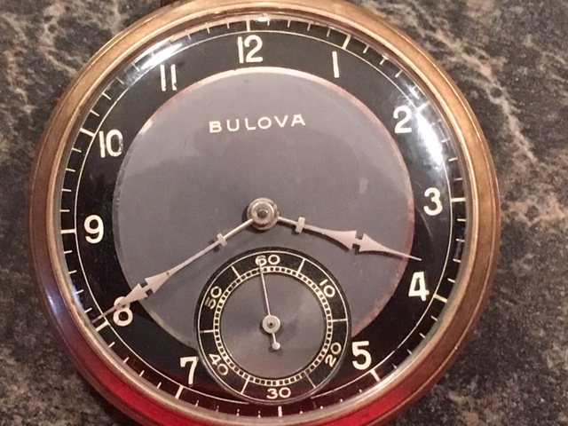 1940 Bulova Pocket Watch watch
