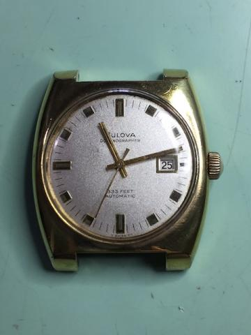 1968 Bulova Oceanographer H watch