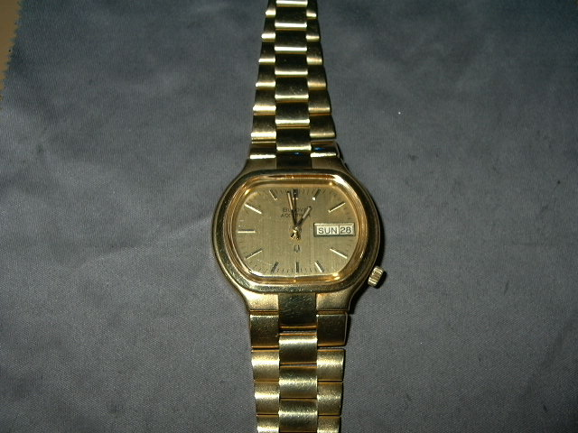 1973 Bulova Accutron Date & Day watch