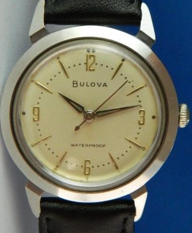 1959 Bulova Strom King watch