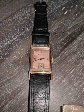1947 Bulova Craftsman B watch