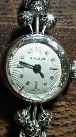 1959 Bulova Marquise watch