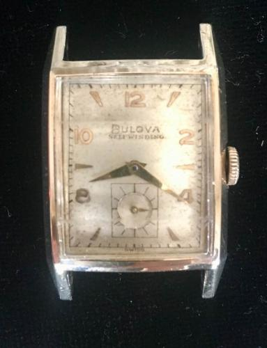 1951 Bulova Duo Wind E  watch
