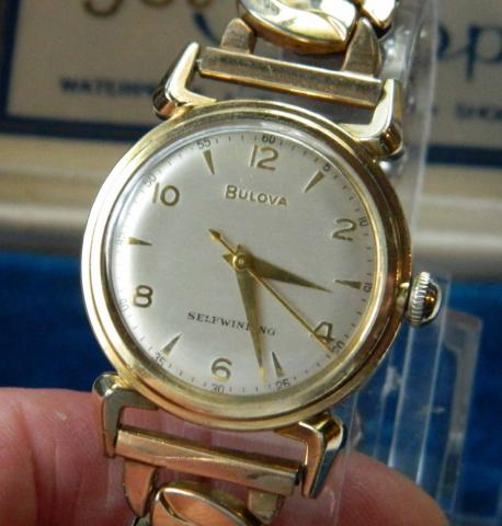 1952 Clipper Bulova watch