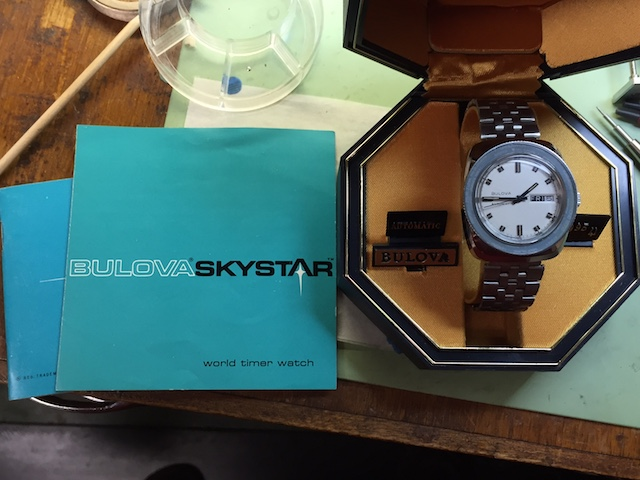 [1969 Skystar] Bulova watch