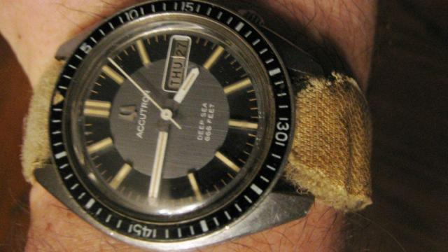 1971 Accutron Deep Sea Bulova watch