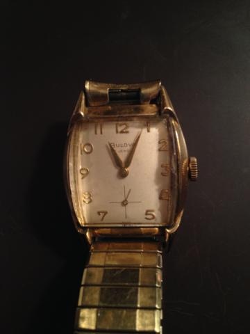1959 Bulova SVP III watch