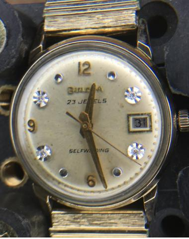 [field_year-1968] Bulova watch