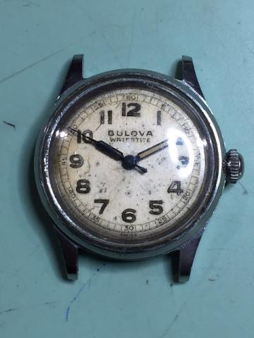 [1942watertite] Bulova watch