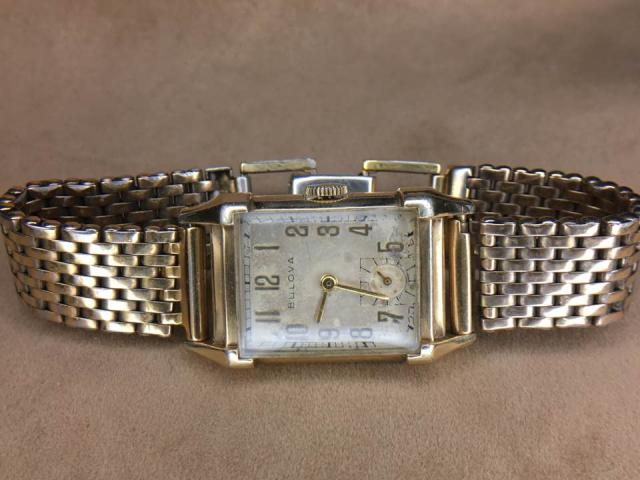 1947 His Excellency Bulova watch