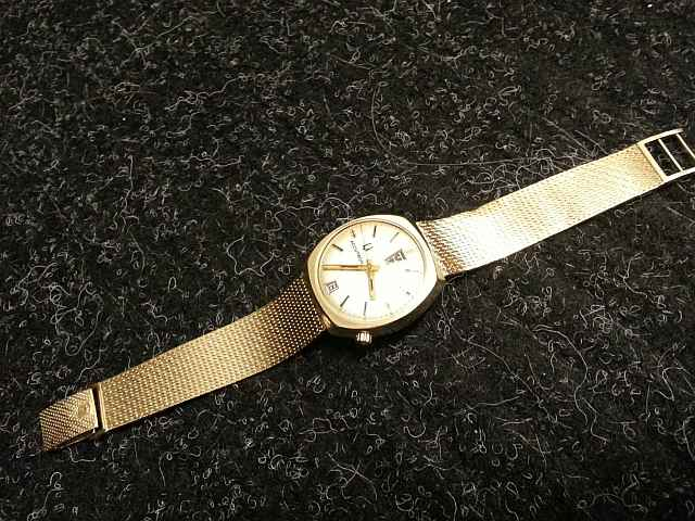 1969 Bulova Accutron Day and Date AD watch